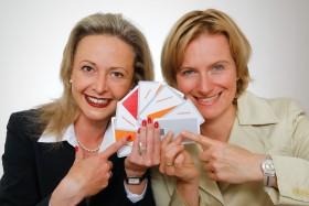 Mag K Stummer _ Dr K Krobath mit Employer Branding Cards