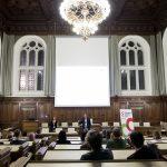 Gemeinderatssitzungssaal im Rathaus Graz